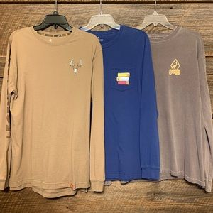 3 Hunting Themed Long Sleeve T-shirt's